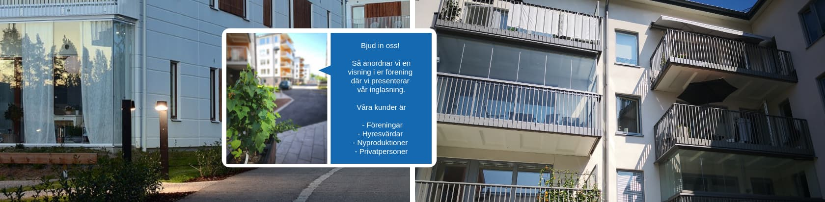 Försäljning NIKA Inglasning AB - Stockholm, Sverige