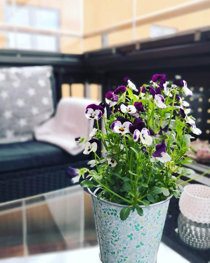 Inspiration inglasad balkong – NIKA Inglasning