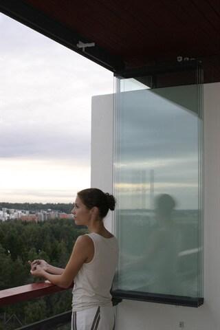 NIKA Inglasning vik-in-system – samla glasen mot väggen